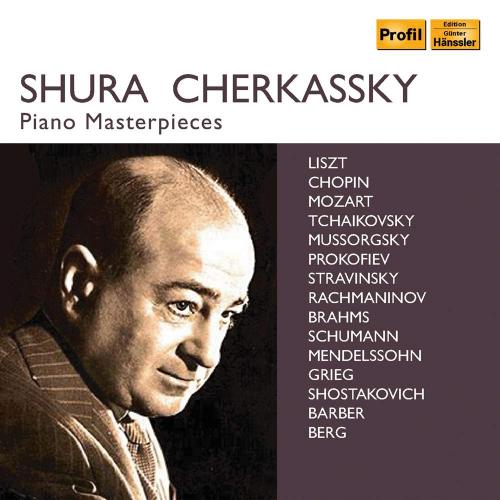 Shura Cherkassky, Piano Masterpieces. 10 CDs