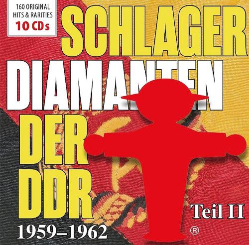Schlager-Diamanten der DDR Teil II: 1959 - 1962. 10 CDs.