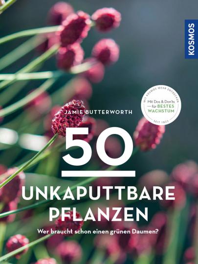 50 unkaputtbare Pflanzen. Wer braucht schon einen grünen Daumen?