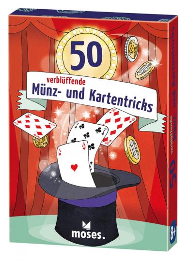50 verblüffende Münz- und Kartentricks.