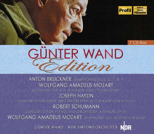 GÜNTER WAND EDITION. 7 CDs