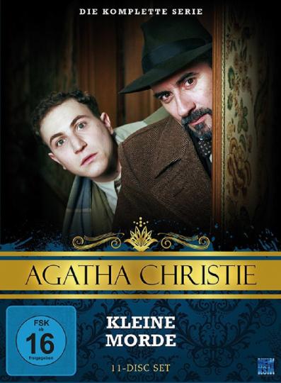 Agatha Christie. Kleine Morde. 11 DVDs.
