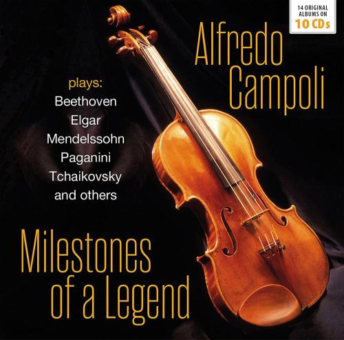 Alfredo Campoli. Milestones of a Legend. 10 CDs.