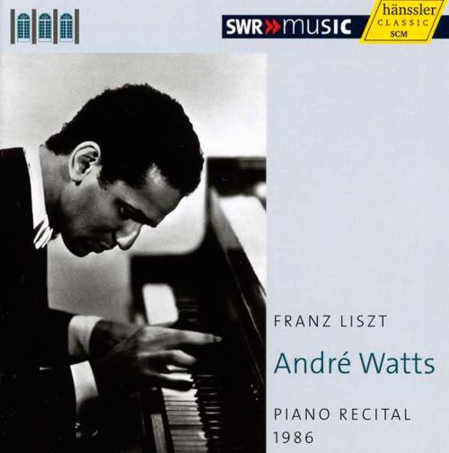 Andre Watts Piano Recital 1986. Franz Liszt. CD.