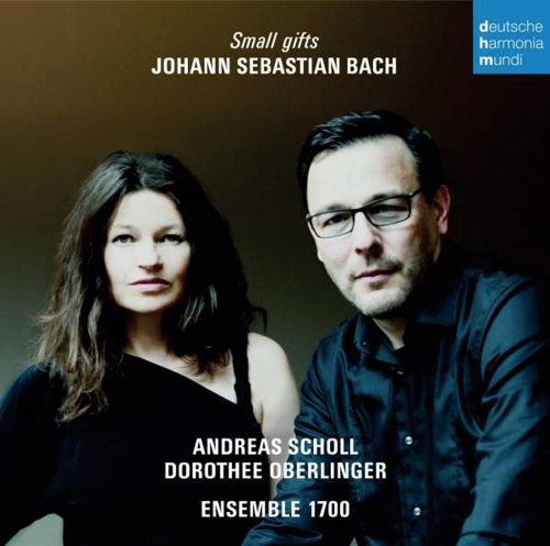 Andreas Scholl und Dorothee Oberlinger. Small Gifts. Johann Sebastian Bach.