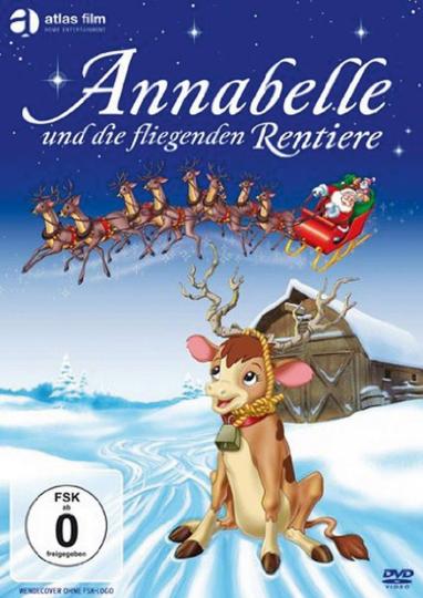 Annabelle und die fliegenden Rentiere. DVD.