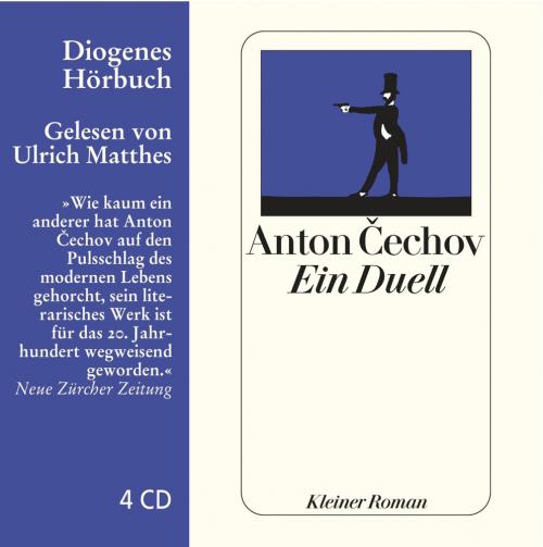 Anton Tschechow. Ein Duell. Kleiner Roman. 4 CDs.