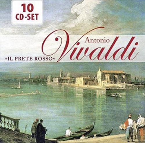 Antonio Vivaldi. Il Prete Rosso. 10 CD Set.