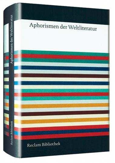 Aphorismen der Weltliteratur.
