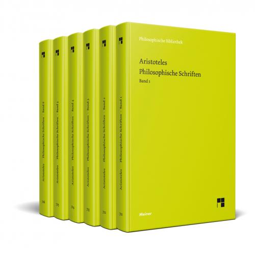 Aristoteles. Philosophische Schriften. 6 Bände im Schuber.