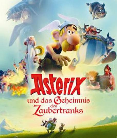 Asterix und das Geheimnis des Zaubertranks. DVD.