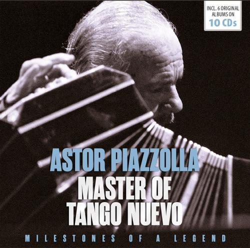 Astor Piazzolla. Master Of Tango Nuevo (Milestones Of A Legend). 10 CDs.