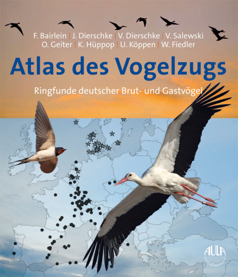 Atlas des Vogelzugs. Ringfunde deutscher Brut- und Gastvögel.