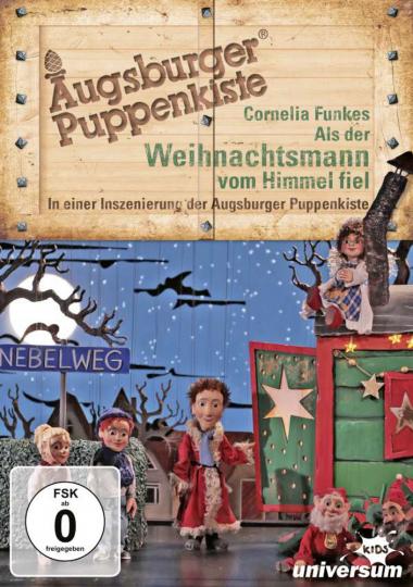 Augsburger Puppenkiste: Als der Weihnachtsmann vom Himmel fiel. DVD.
