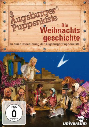 Augsburger Puppenkiste. Die Weihnachtsgeschichte. DVD.