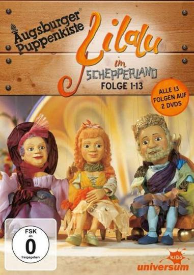 Augsburger Puppenkiste: Lilalu im Schepperland. 2 DVDs.