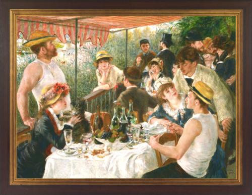Auguste Renoir (1841 - 1919). Frühstück der Ruderer (1881).