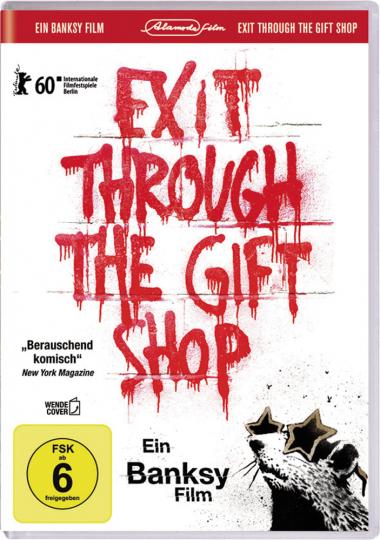 Banksy - Exit Through The Gift Shop. DVD.