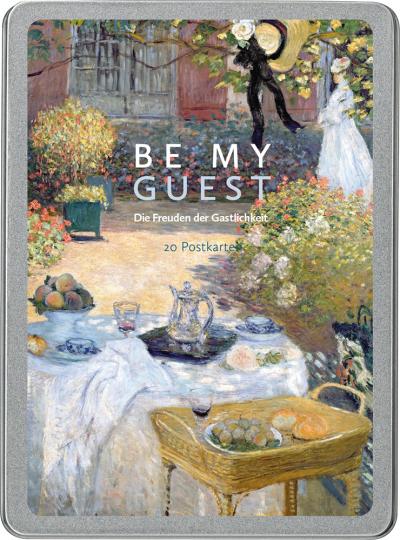 Be my guest. Die Freuden der Gastlichkeit. Postkarten-Set.