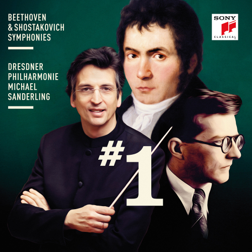 Beethoven & Schostakowitsch. Symphonien Nr. 1. CD.