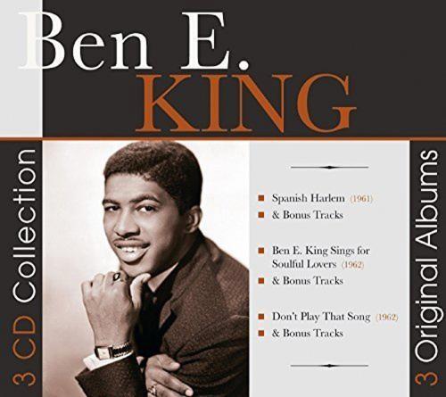 Ben E. King. 3 Original Albums. 3 CDs.