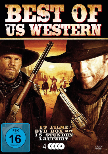 Best of US - Western. 4 DVDs.