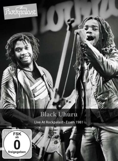 Black Uhuru. Live At Rockpalast Essen 1981. DVD.