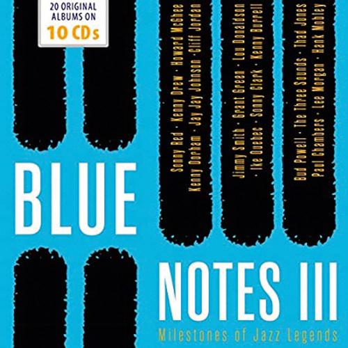 Blue Notes. Vol. 3. Milestones Of Legends. 10 CDs.