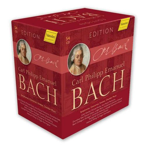 Carl Philipp Emanuel Bach Edition. 54 CDs.