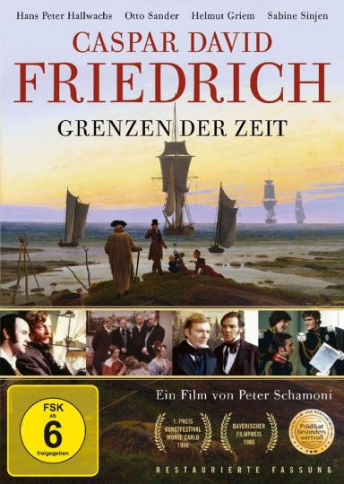 Caspar David Friedrich - Grenzen der Zeit. DVD.
