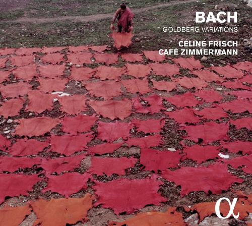 Celine Frisch & Café Zimmer spielen Johann Sebastian Bach. Goldberg-Variationen BWV 988. 2 CDs.