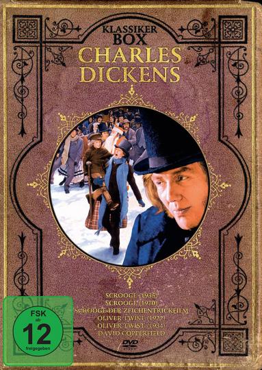 Charles Dickens Klassiker Box. 2 DVDs.