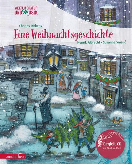 Charles Dickens. Eine Weihnachtsgeschichte. Gekürzte Ausgabe. Mit CD.