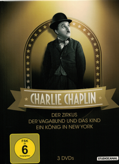 Charlie Chaplin Collection. 3 DVDs.