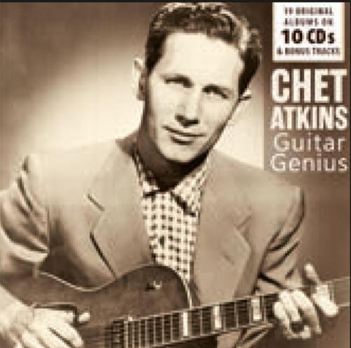 Chet Atkins. Guitar Genius. 19 Originalalben. 10 CDs.