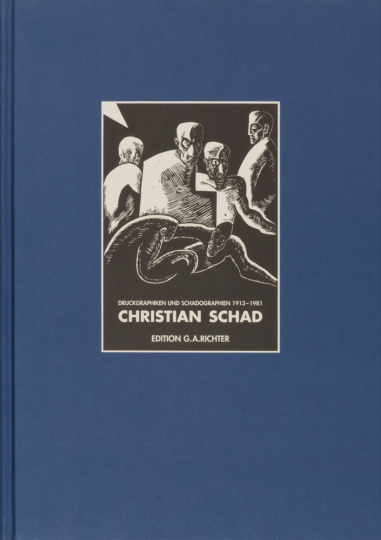 Christian Schad - Druckgraphiken und Schadographien 1913-1981. Vorzugsausgabe mit einer signierten Radierung »Fauniske«. Kat. Nr. 65.