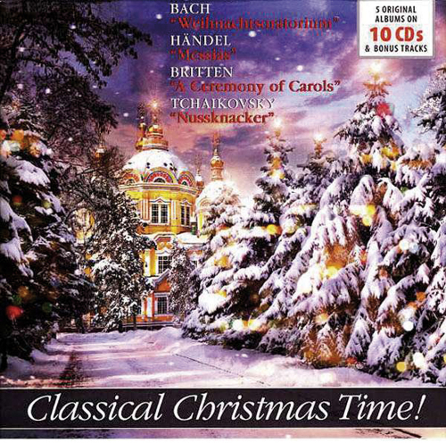 Classical Christmas Time. 10 CDs.