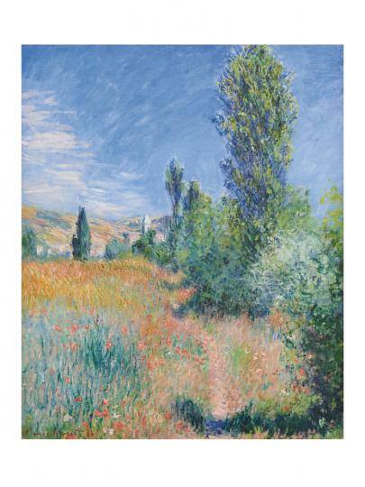 Claude Monet. Landschaft auf der Insel Saint-Martin. 1881.