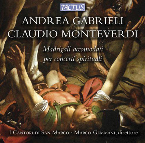 Claudio Monteverdi (1567-1643). Madrigali. CD.