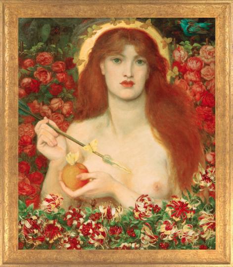 Dante Gabriel Rossetti (1828 - 1882). Venus Verticordia 1864-68.