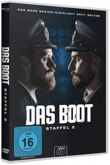 Das Boot Staffel 2. 3 DVDs.
