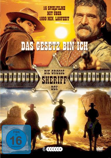 Das Gesetz bin ich! - Die große Sheriff-Box 6 DVDs