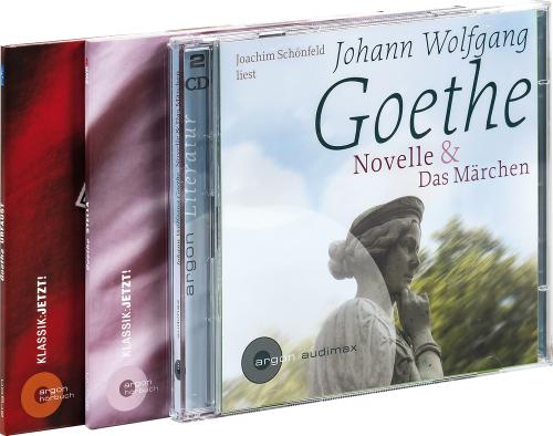 Das große Goethe-Paket. Urfaust, Stella, Novelle & Das Märchen. 4 CDs.