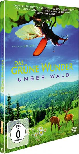 Das grüne Wunder - Unser Wald. DVD