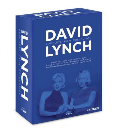 David Lynch (Komplette Film Kollektion). 10 DVDs.