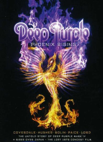 Deep Purple. Phoenix Rising (Deluxe-Edition) (Digibook). 1 DVD, 1 CD.