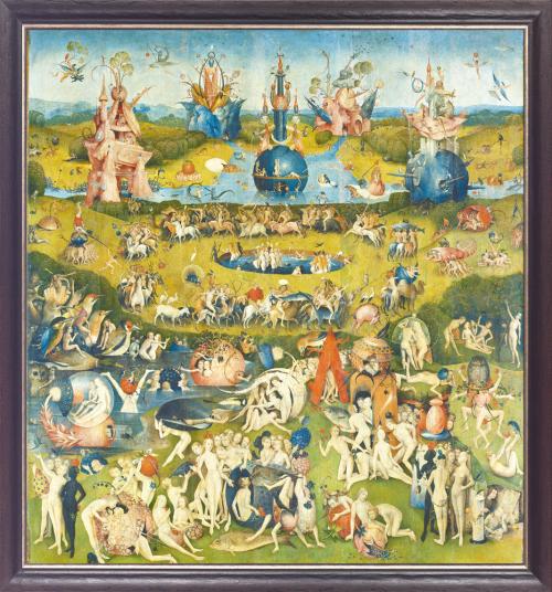 Der Garten der Lüste. Hieronymus Bosch (1450-1516).