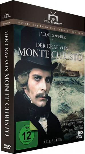Der Graf von Monte Christo. 3 DVDs.