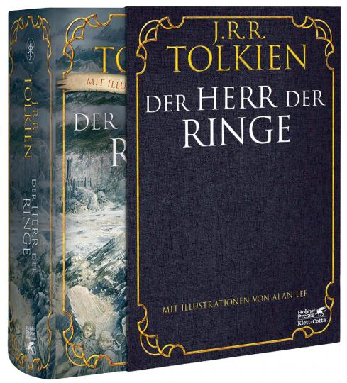 Der Herr der Ringe. Mit Illustrationen von Alan Lee