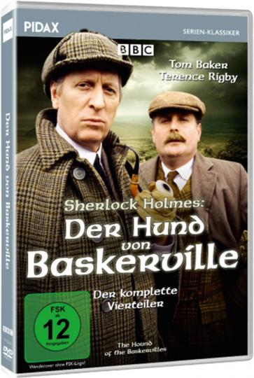 Der Hund von Baskerville (1982) (Komplette Serie). DVD.